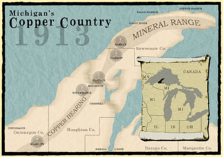 Copper Country 1913